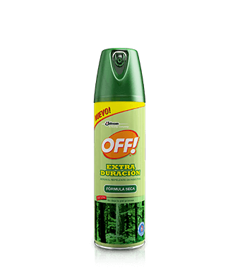 OFF!® Extra Duración Fórmula Seca