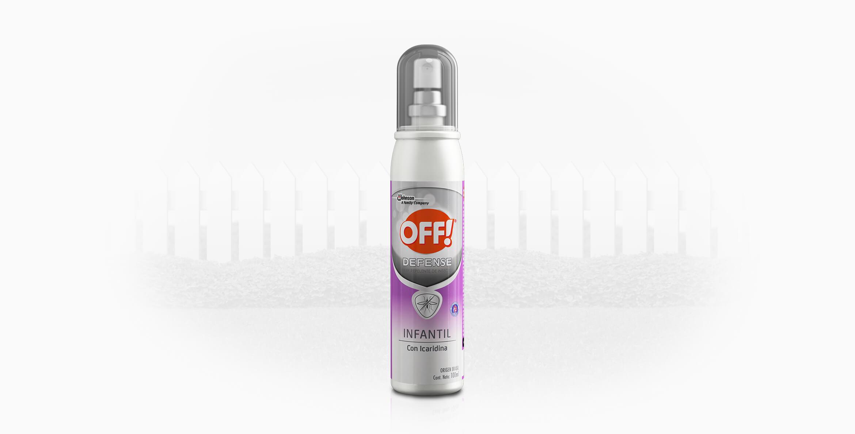 OFF!® Defense Infantil Spray