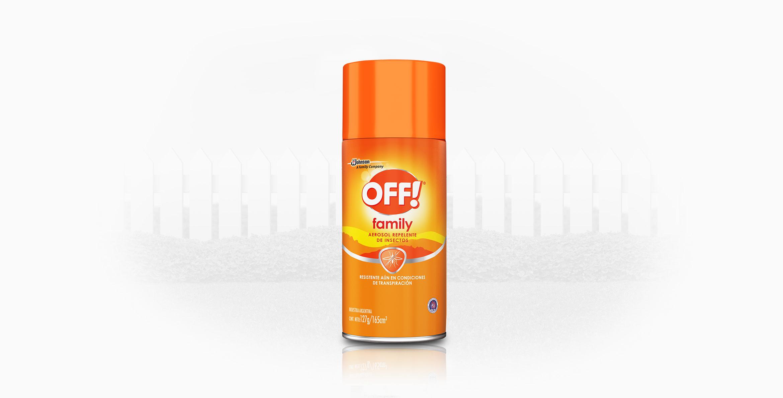 OFF!® Family Aerosol