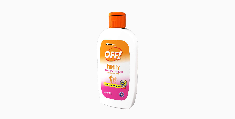 OFF!® Family Crema Tropical Fresh