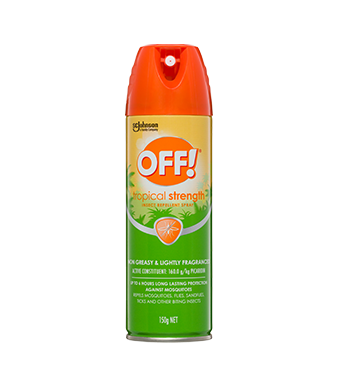 OFF!® Tropical Insect Repellent Aerosol