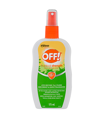 OFF!® Tropical Insect Repellent Pump