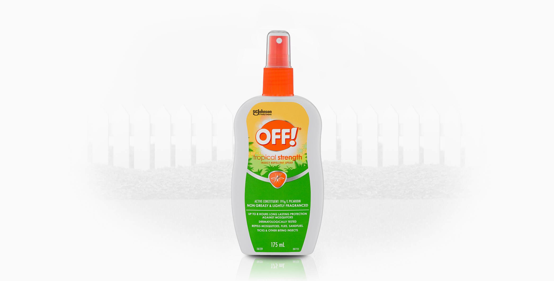 OFF!® Tropical Insect Repellent Pump