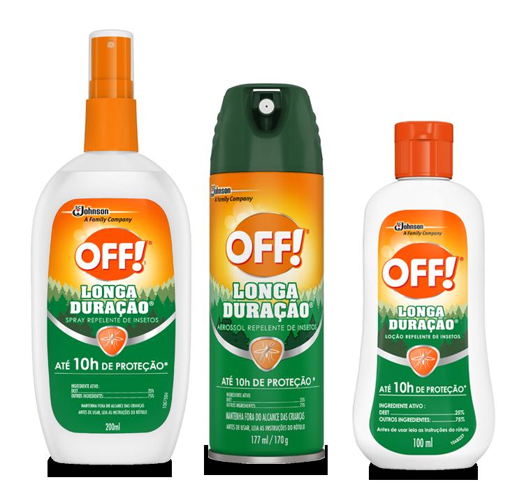 OFF!<sup>®</sup>  Longa Duração