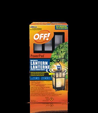 OFF! PowerPad® Mosquito Lantern