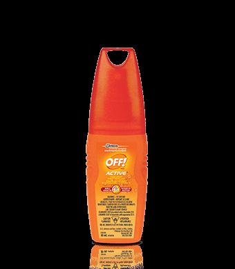 OFF! Active® Chasse-moustiques En vaporisateur à gâchette