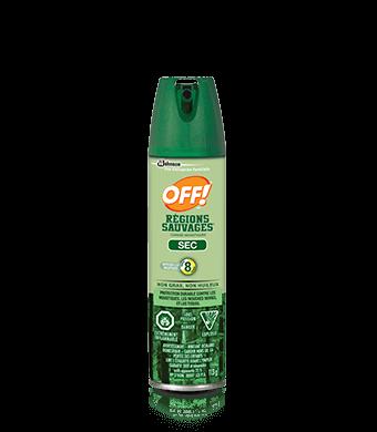 OFF!® Régions sauvages® Chasse-moustiques – Sec