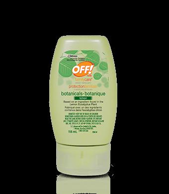 OFF!® protectionfamiliale Botanique Lotion chasse-moustiques