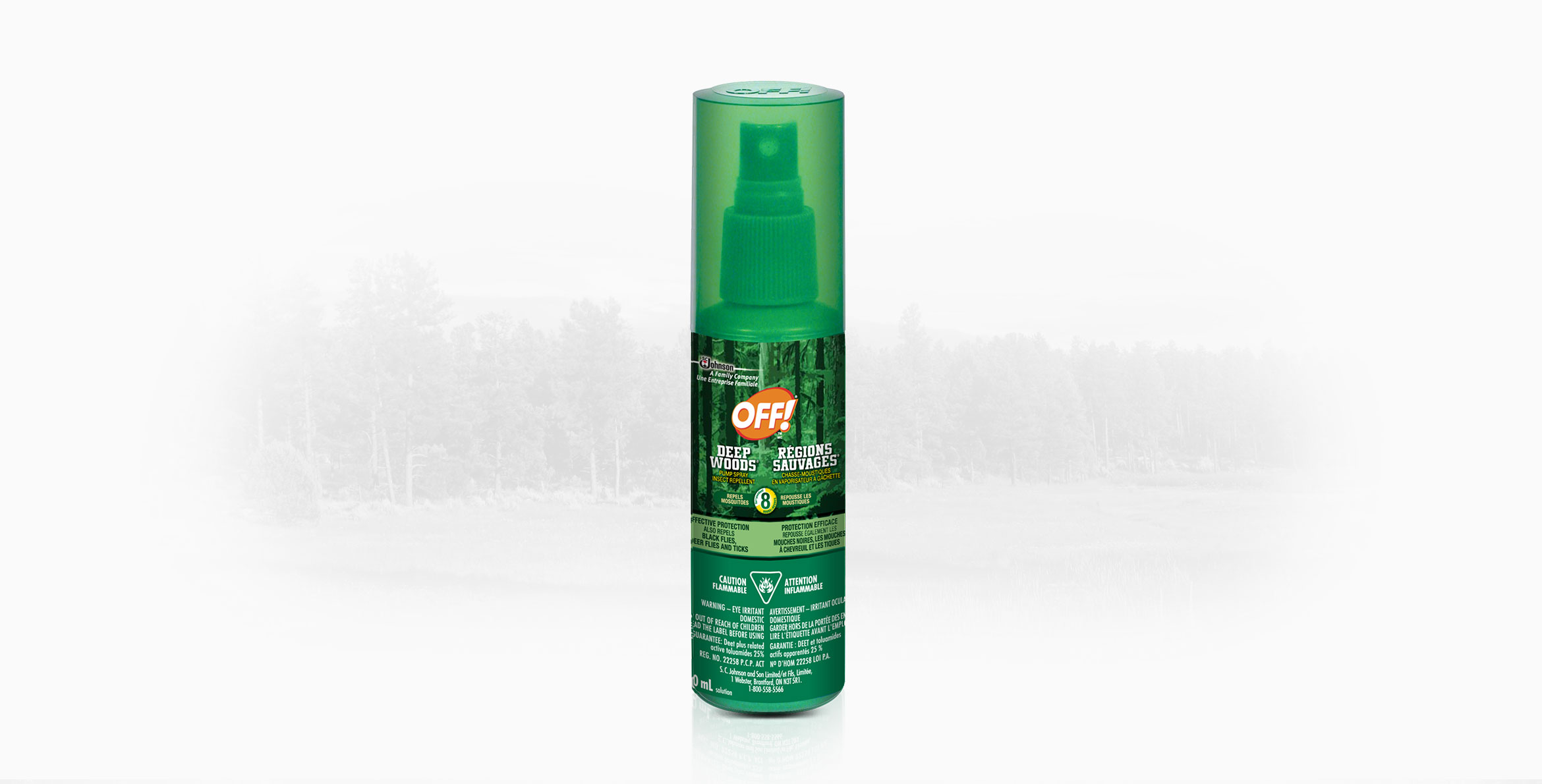 OFF!® Deep Woods® Pump Spray Insect Repellent