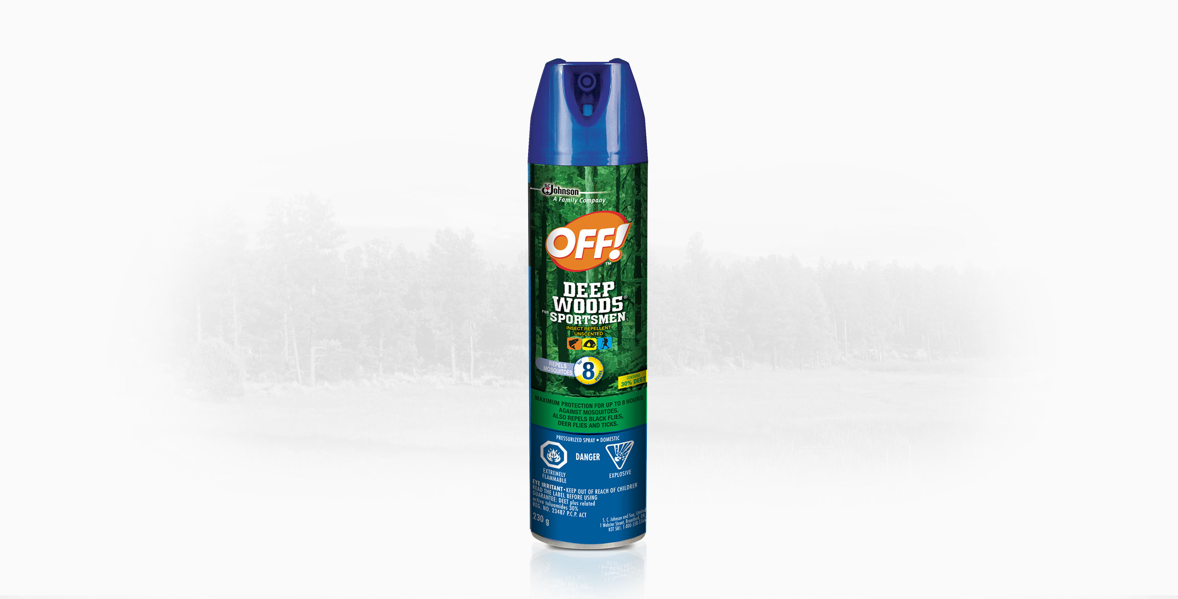 OFF!® Deep Woods® for Sportsmen Insect Repellent