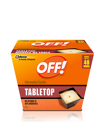 OFF!® Citronella Candle - Tabletop