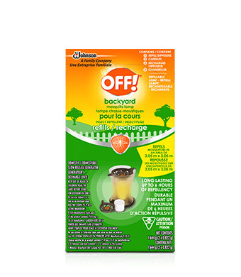 OFF!® Backyard Mosquito Lamp – Refills