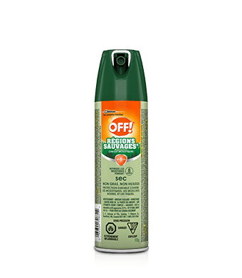OFF!® Deep Woods® Insect Repellent Dry