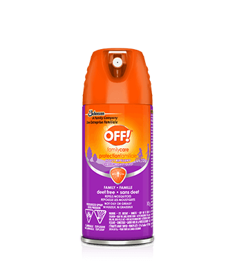 OFF!® Family Care® Aerosol Insect Repellent 8 - Deet Free
