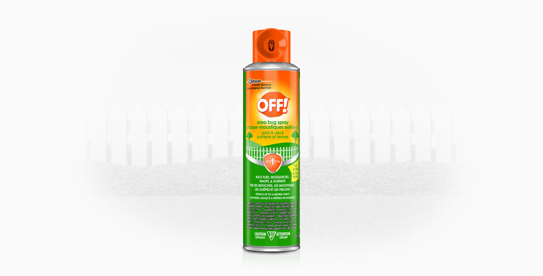 OFF!®Area Bug Spray (Yard & Deck)