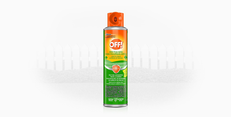 OFF!® Chasse-moustiques extérieur (Parterre et Terrasse)