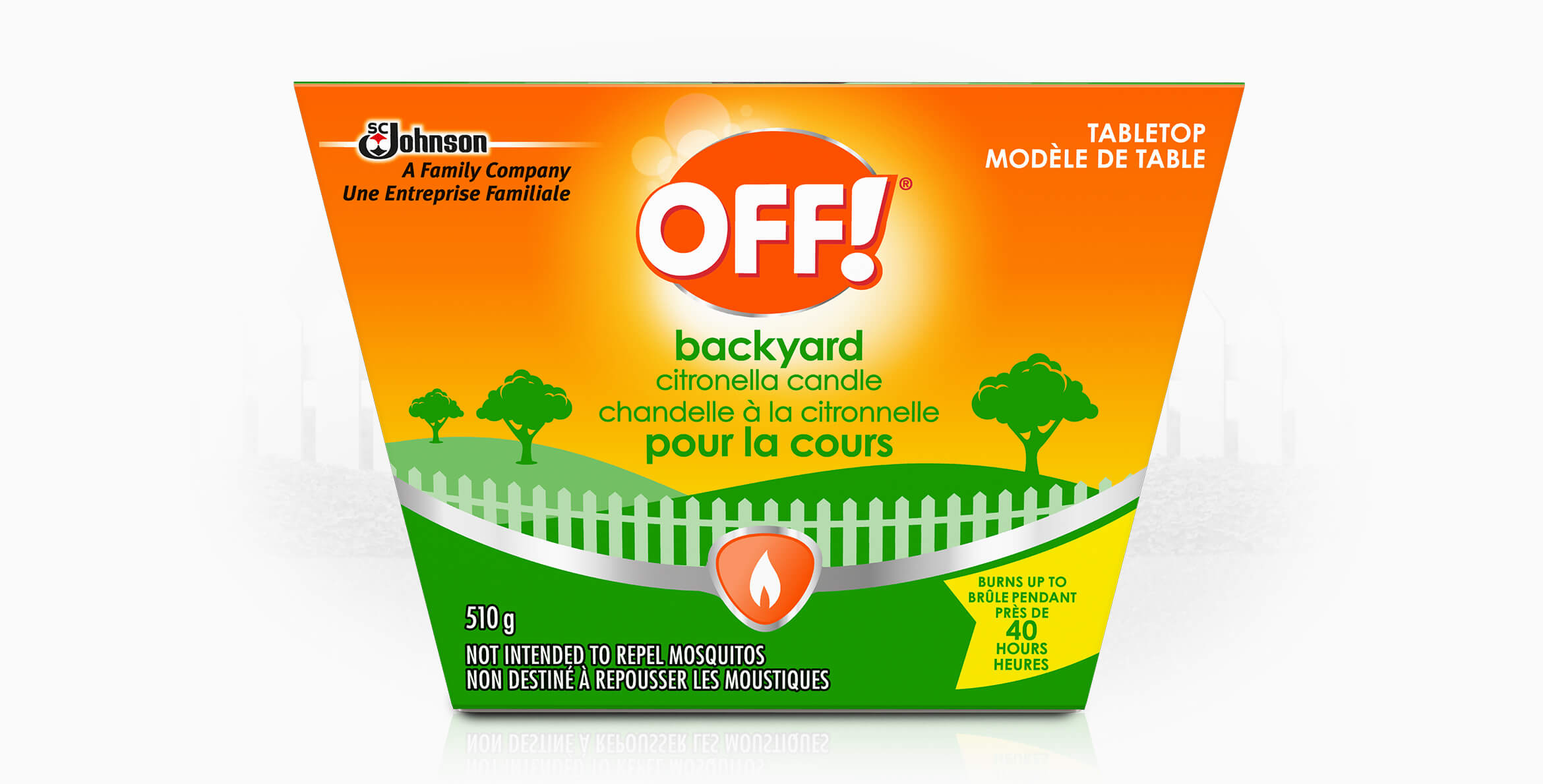 OFF!® Citronella Cintronelle Candle – Tabletop