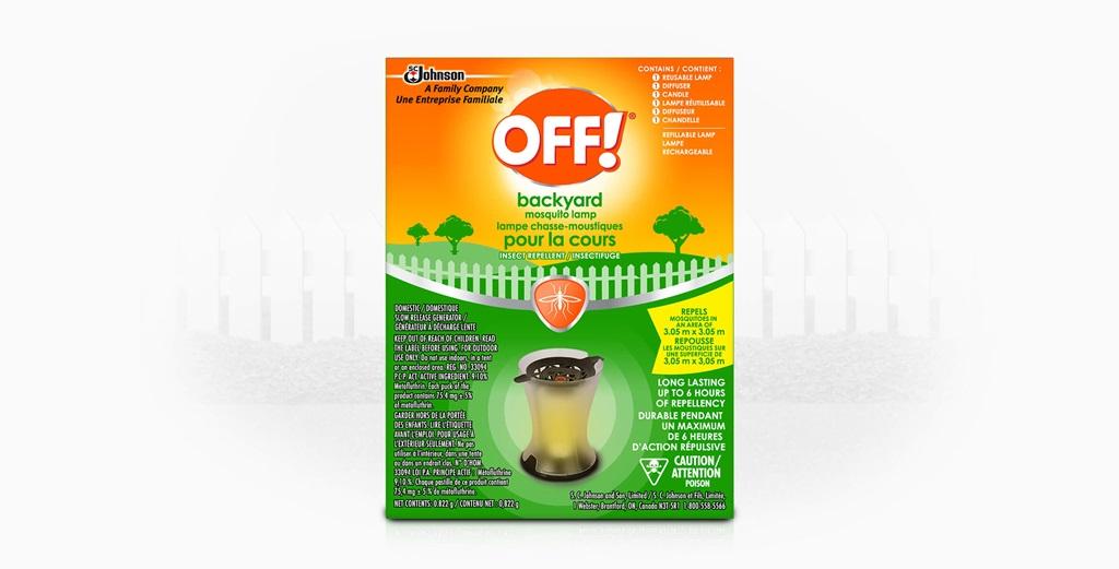 OFF!® Backyard Mosquito Lamp