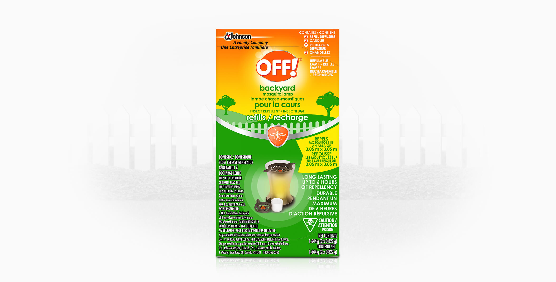 OFF!® Backyard Mosquito Lamp – Refills