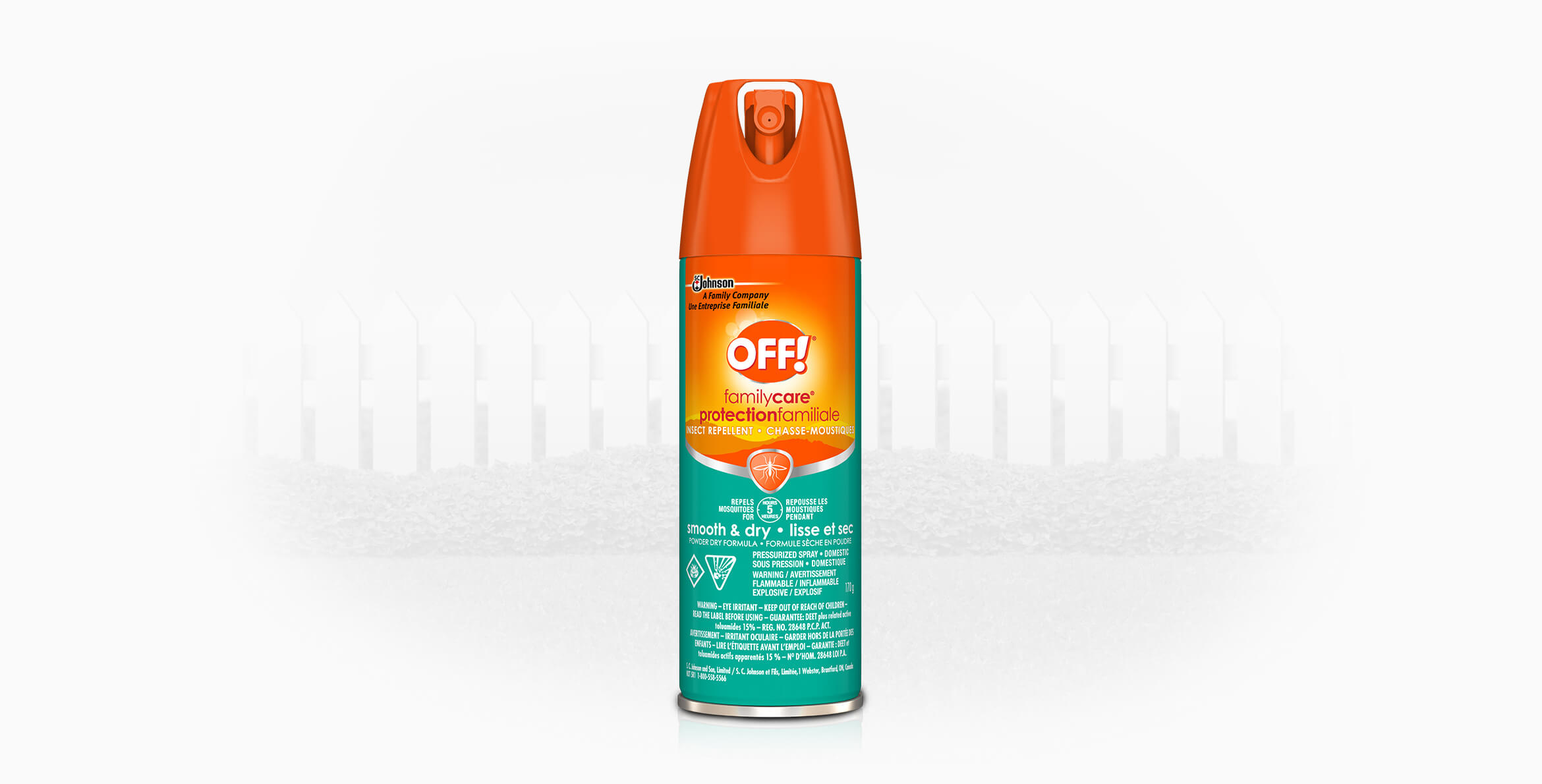OFF!® FamilyCare® Insect Repellent (Smooth & Dry)