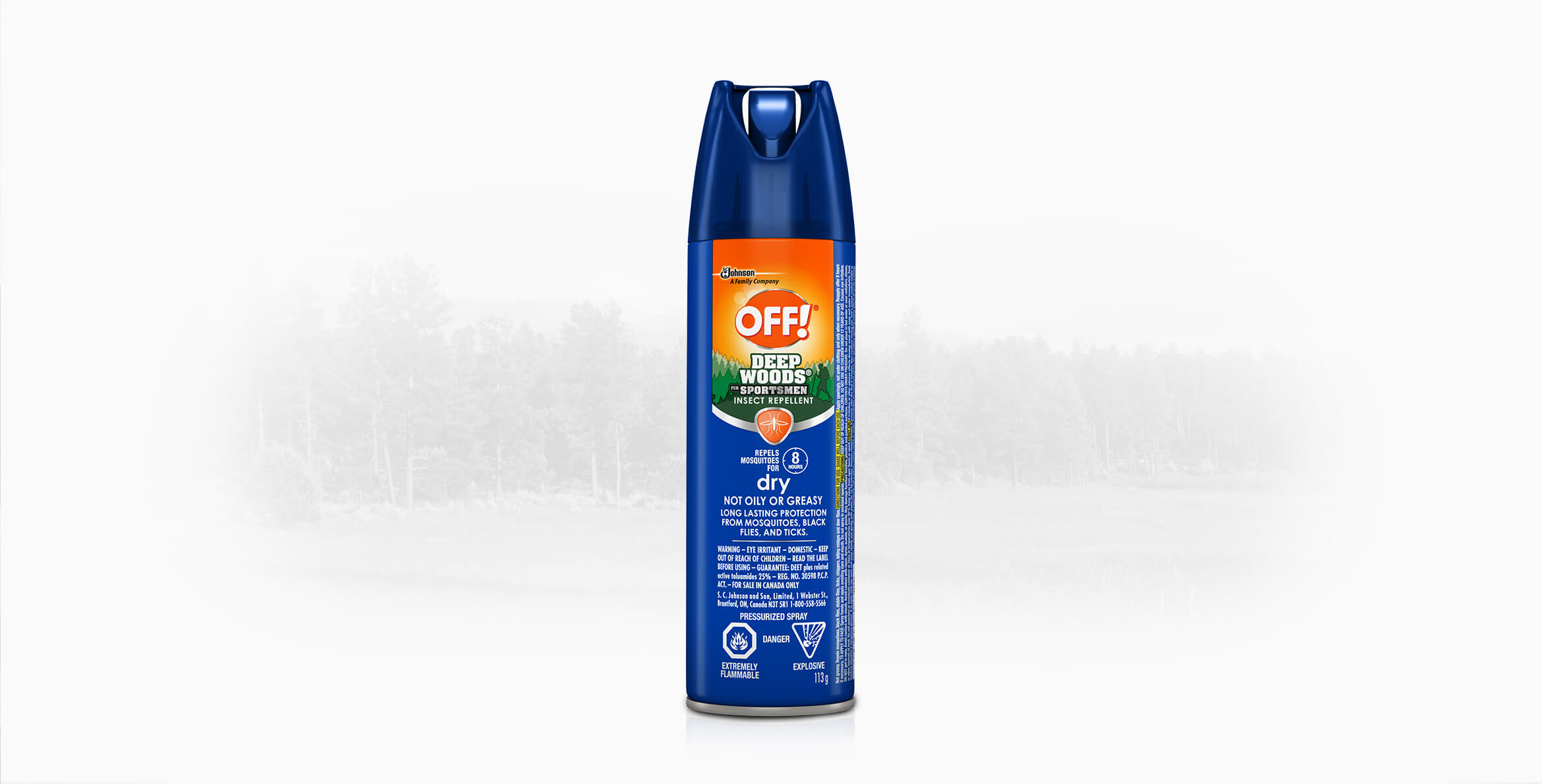 OFF!® Deep Woods® for Sportsmen Insect Repellent Dry