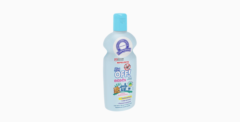 Stay OFF!® Bebés Repelente de insectos en loción 120 mL