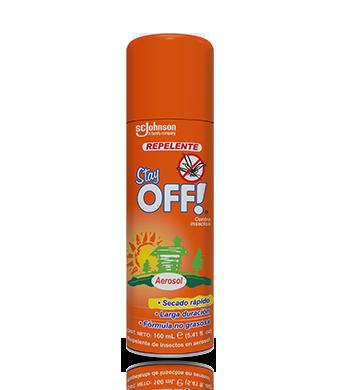 Stay OFF!® Adultos Repelente de insectos en Aerosol 160 mL