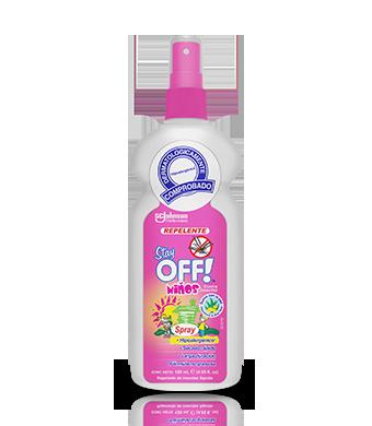 Stay OFF!® Niños Repelente de insectos con atomizador 120 mL