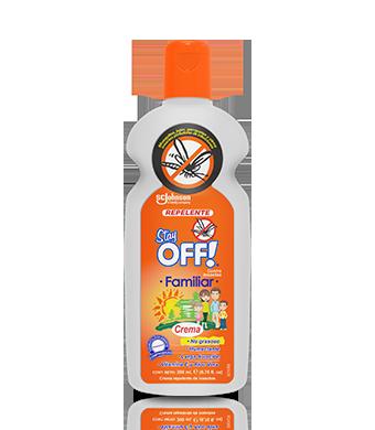 Stay OFF!® Family Repelente de insectos en Crema 200 mL