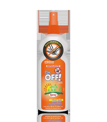 Stay OFF!® Adultos Repelente de insectos con atomizador 120 mL