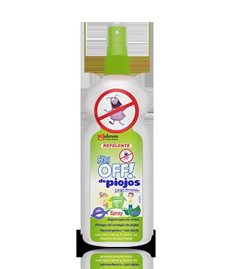 Stay OFF!® Repelente de piojos con atomizador 120 mL
