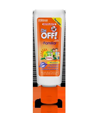 Stay OFF!® Family Repelente de insectos en Crema 60 mL