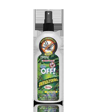 Stay OFF!® Amazonic Repelente de insectos con atomizador 120 mL