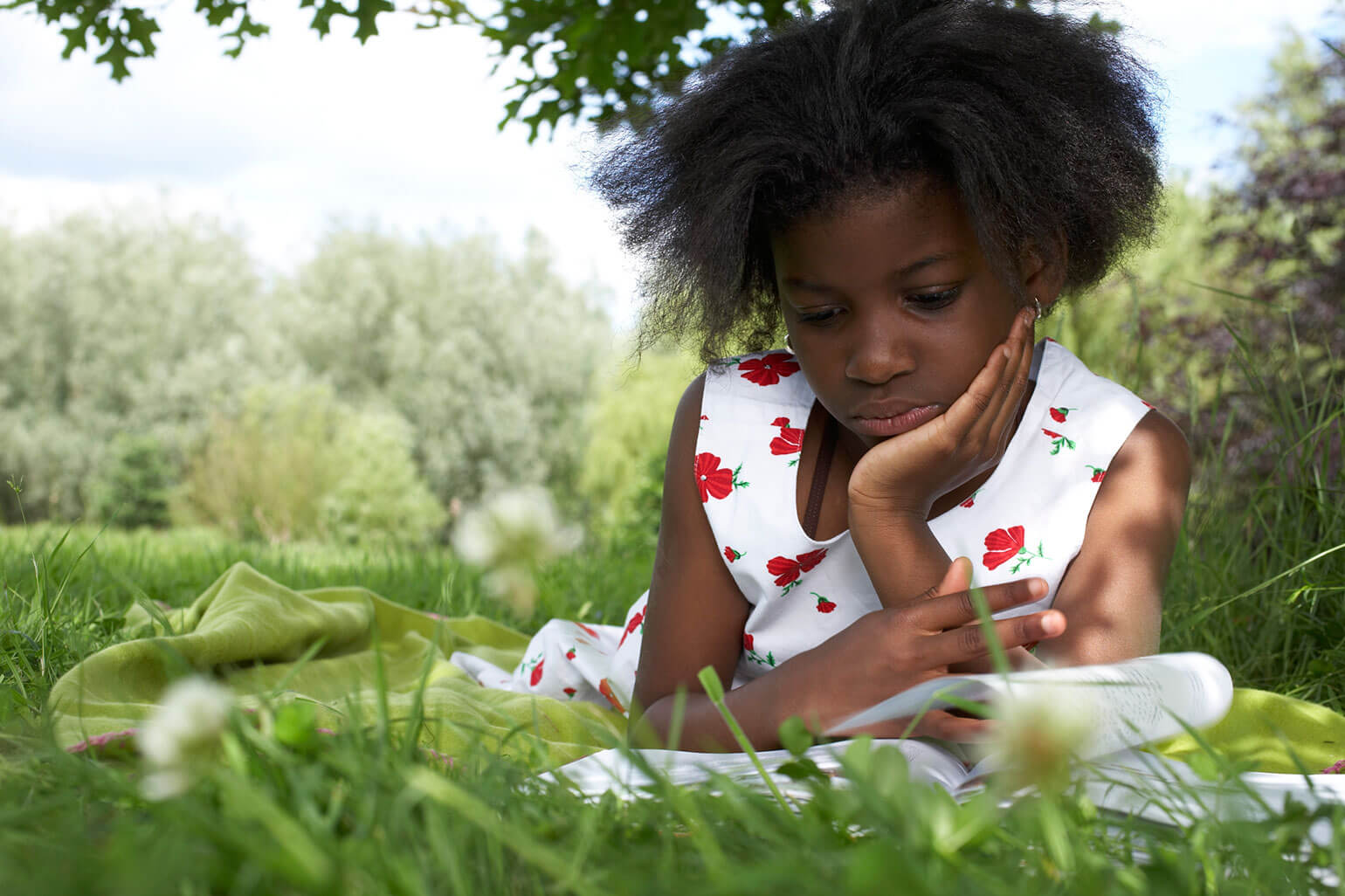 Nature makes kids high-performance learners and high scorers on tests.