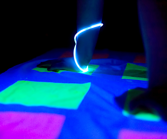 get glowing: 3 backyard games to play at night