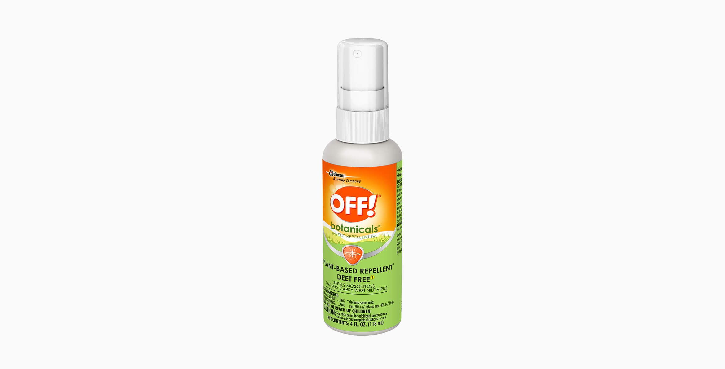 OFF! Botanicals® Insect Repellent IV