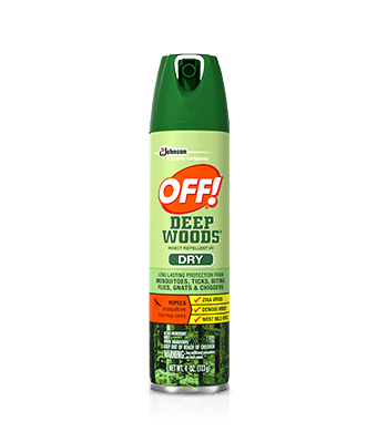 OFF!<sup>® </sup> Deep Woods® Insect Repellent VIII (Dry)