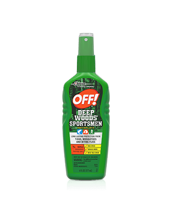 OFF!® Deep Woods® Sportsmen Insect Repellent III