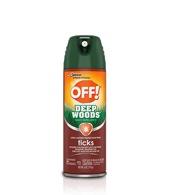 OFF!® Deep Woods® Insect Repellent V (garrapatas)