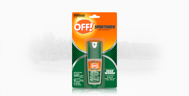 OFF!® Deep Woods® Sportsmen Insect Repellent I