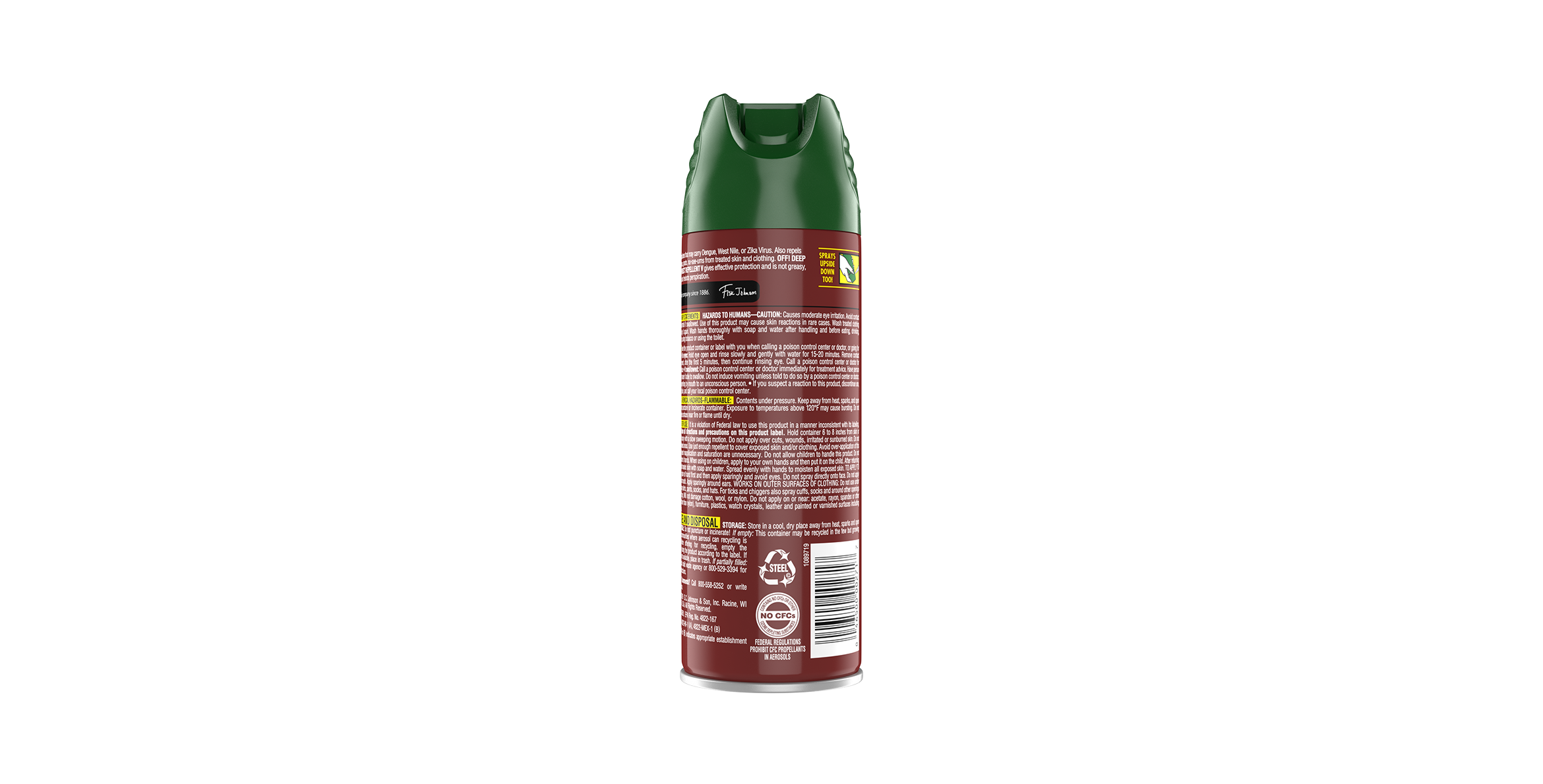OFF!® Deep Woods® Insect Repellent V (Tick)