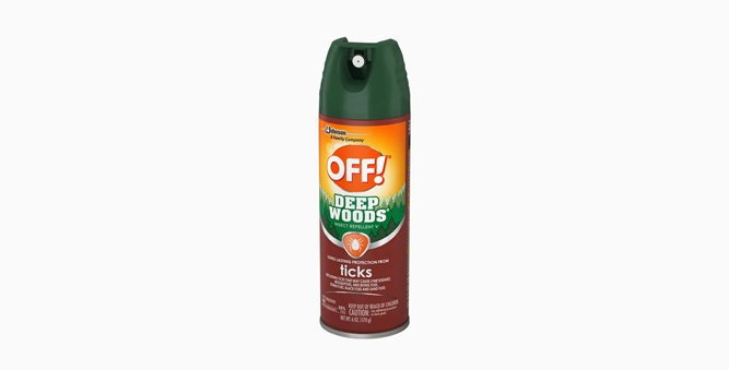 OFF! Deep Woods® Insect Repellent V (Tick)
