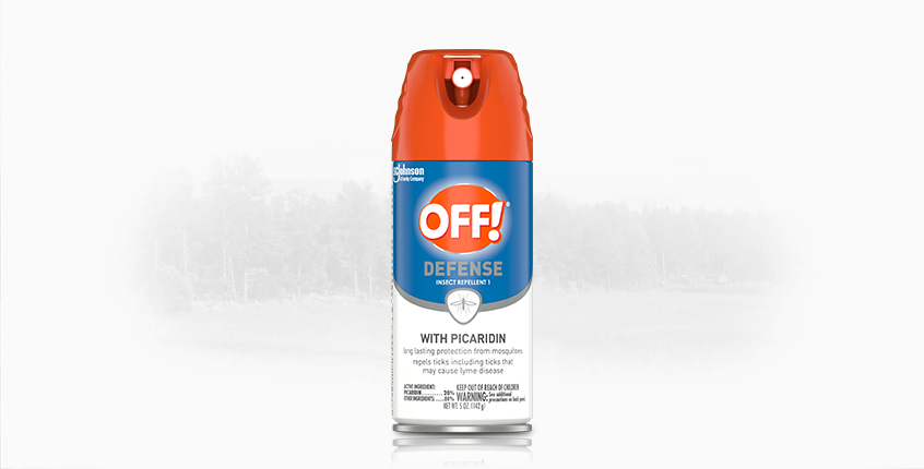 OFF!® Defense Insect Repellent 1 With Picaridin, 5 oz. Aerosol Spray