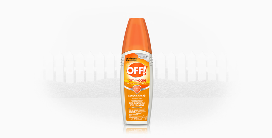 OFF!® FamilyCare Insect Repellent IV (Unscented)