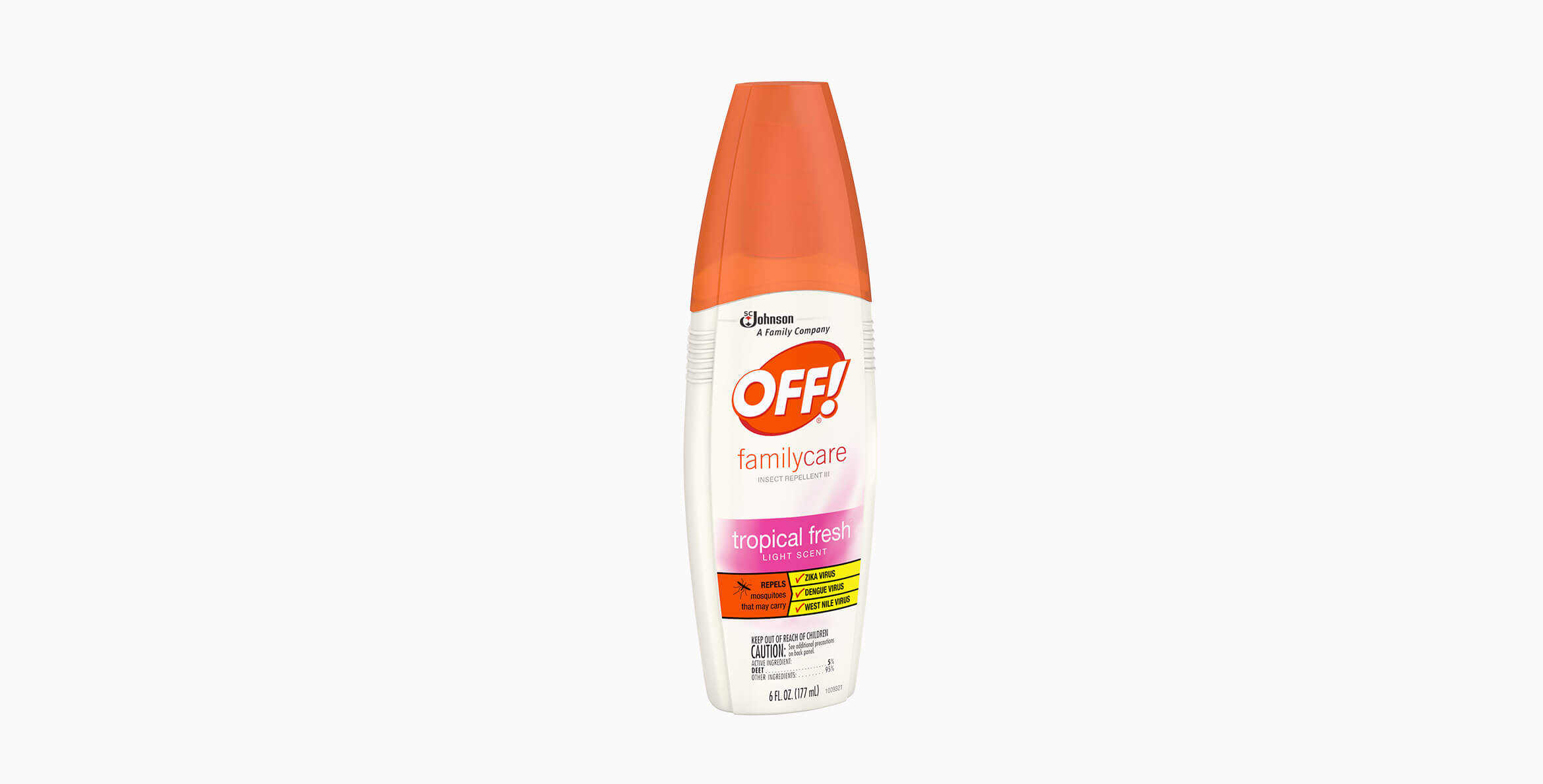 OFF!® FamilyCare Insect Repellent III (Tropical Fresh®)