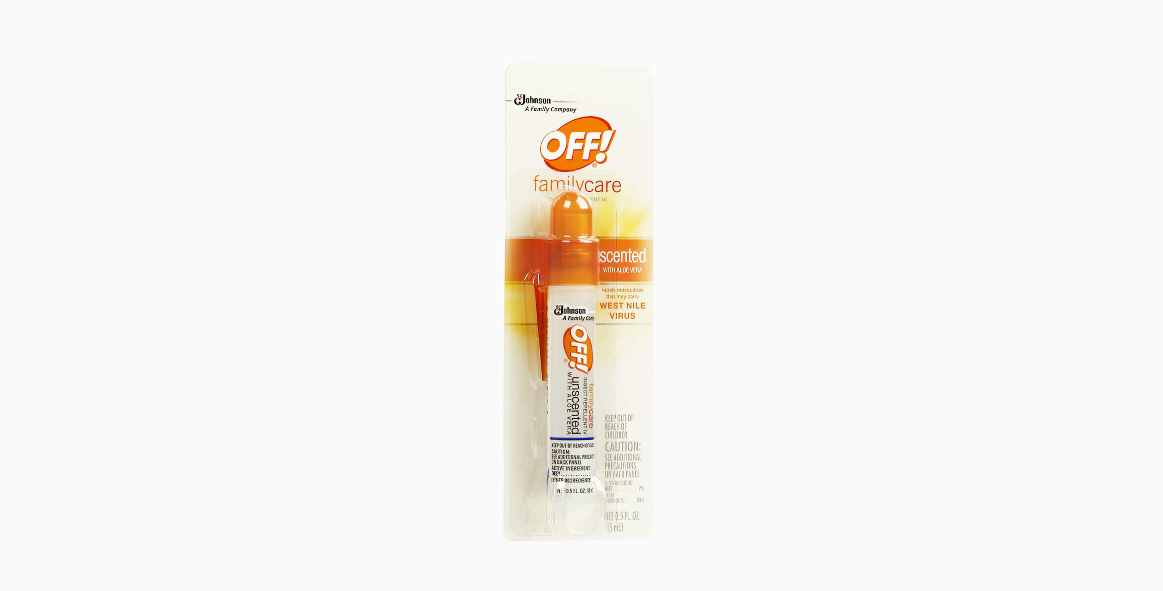OFF!® FamilyCare Insect Repellent IV Mini Pump Spray