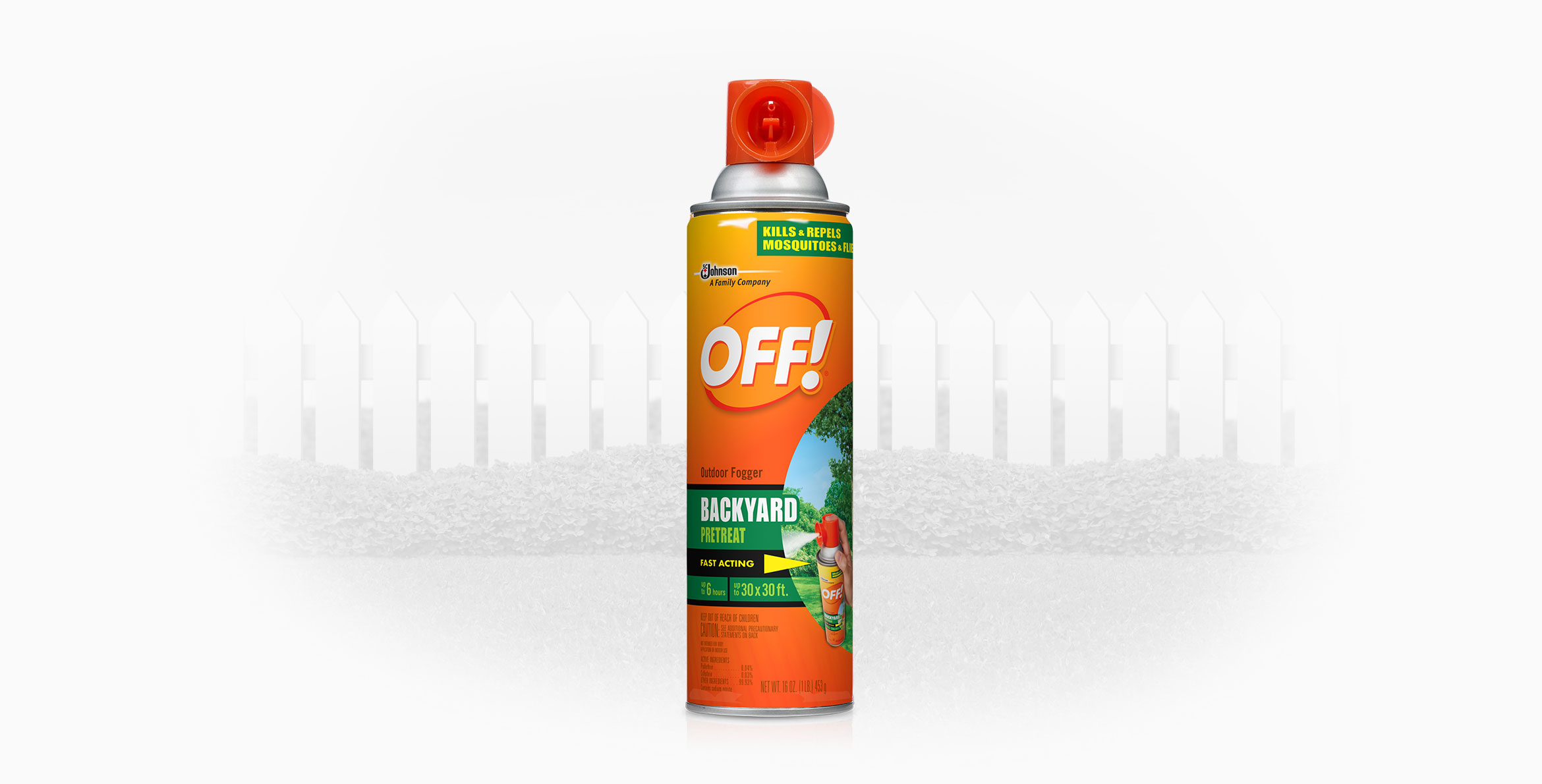 OFF!® Outdoor Fogger