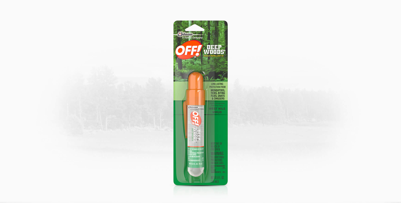 OFF!® Deep Woods® Insect Repellent VII Mini Pump Spray