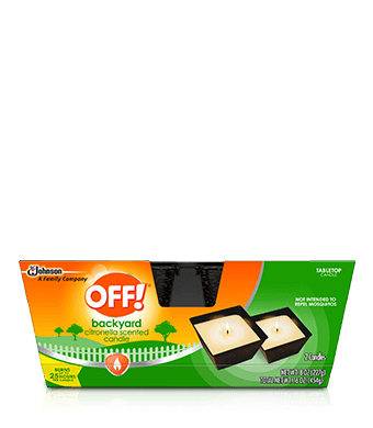 OFF!® Citronella Mini Candle 2PK