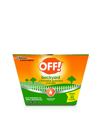 OFF!® Citronella Candle
